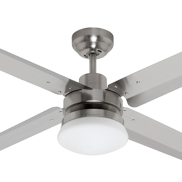 High Resolution Quality Ceiling Fans 5 Chrome Ceiling Fan: Fanco Eco Motion Ceiling Fan With Light & Remote