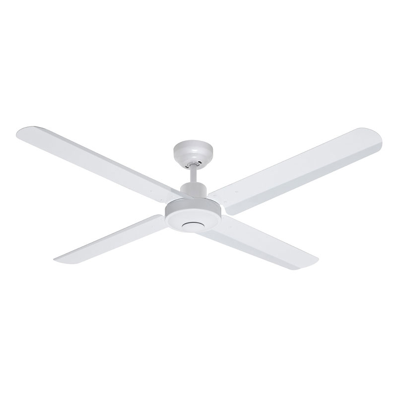 Dc ceiling fans with light remote fanco australia eco motion dc ceiling fan with remote white 52 aloadofball Images