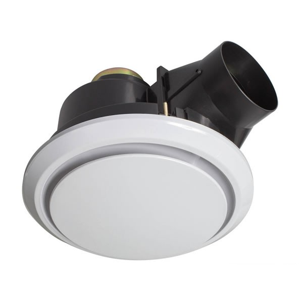 Cost To Replace Bathroom Exhaust Fan: Luna PRO Ceiling Fan Round White 200