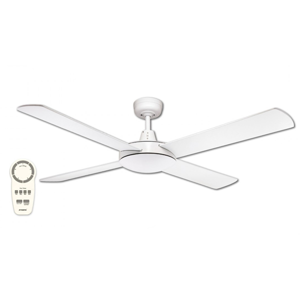 Urban 2 Dc Motor Ceiling Fan With Remote Control White 52