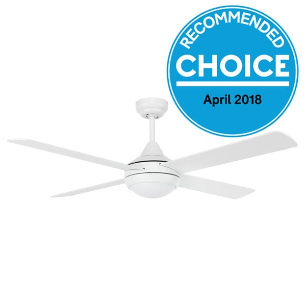 Energy Efficient Eco Silent Dc Fan With Led Light White 52 Quot