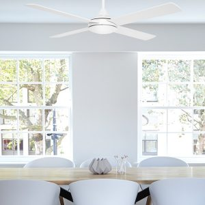 Eco Silent Dc Ceiling Fan With Remote White 48 Quot