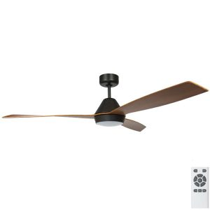 Ceiling fans fanco australia buy unique ceiling fans eco breeze dc ceiling fan with led light remote black with koa blades 52 mozeypictures Image collections