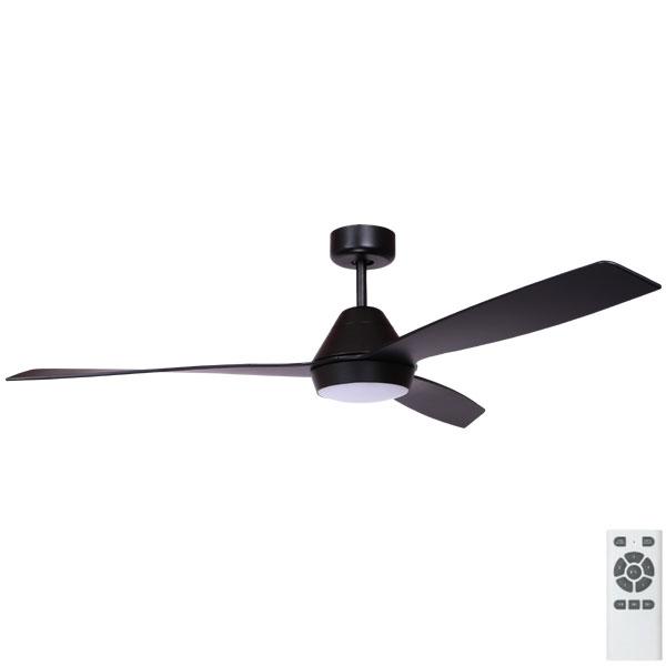 Eco Breeze Dc Led Ceiling Fan Black 52 Quot Fanco Australia