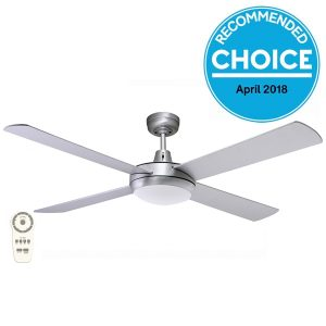 Fanco Urban 2 Ceiling Fan - Quiet Bedroom Fan